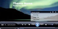 Windows Media Player - Tema Wordpress