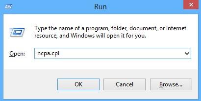 Conexiune retea Windows 8